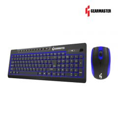 Gearmaster Keyboard+Mouse Wireless Combo รุ่น GMK082W - หลากสี