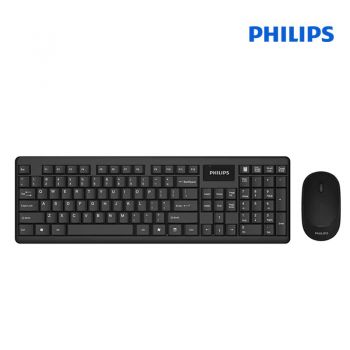 Philips Wireless Keyboard Mouse Combo Set รุ่น SPT6314