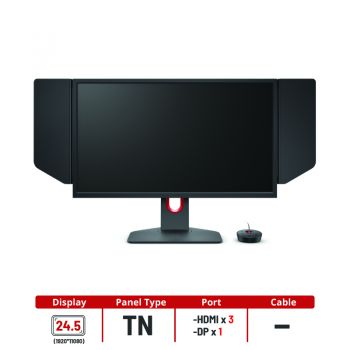 "BenQ Zowie Monitor 24.5"" รุ่น XL2546K  TN FHD 240Hz"