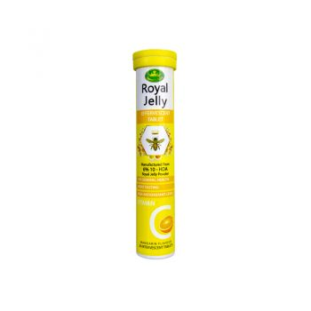 Nature' s King Royal Jelly Plus Vitamin C - Effervescent 20 Tablet
